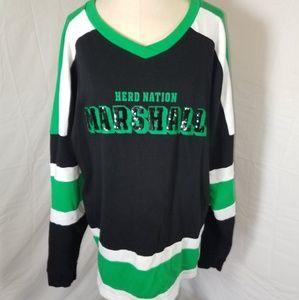 Marshall University Ladies Sweatshirt Size Medium